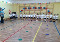 В детском саду прошел праздник, посвященный 23 февраля